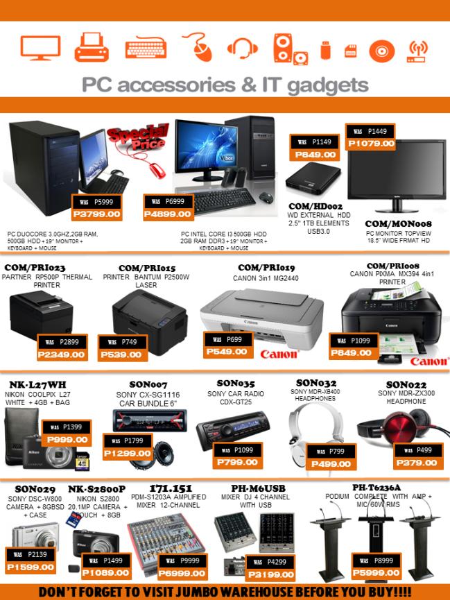 Specials Page 2 2015