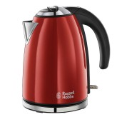 5038061024180 RUSSELL HOBBS RUBY RED CORDLESS KETTLE