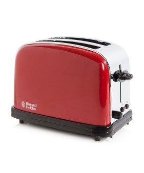5038061027204 RUSSELL HOBBS RED 2 SLICE TOASTER