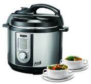 600 267 400 5323 Juno 5L Electric Pressure Cooker