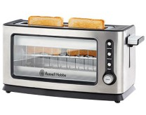 6002322010815 RUSSELL HOBBS GLASS PANEL TOASTER