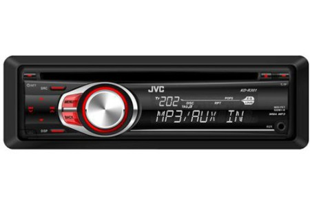 JVC KD-R301 CAR RADIO