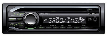 SONY CDX-GT242 CAR RADIO