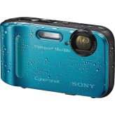 SONY TF1 WATERPROOF CAMERA 8GB CARD AND BAG