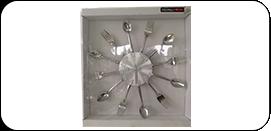 0918-Cut-Out-Clock kitchen clock