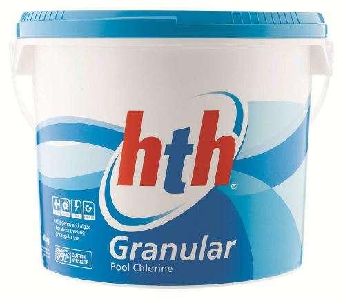 Chlorine Granules Calcium Hypochlorite 65 Min 45 Kg Drum Hth Usa